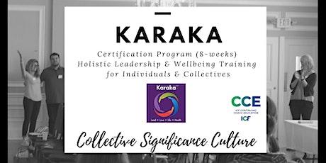 Karaka Certification Course (International Coaching Federation Accredited) tickets