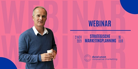 Webinar | Strategische Marketingplanning Tickets