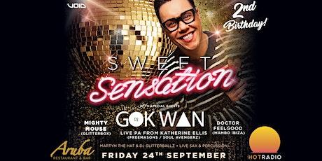 Sweet Sensation 2nd Birthday Party@ Aruba Bournemouth with GOK WAN 24/09/21 tickets