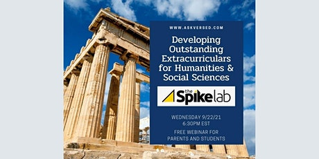 Developing Outstanding Extracurriculars for Humanities & Social Sciences tickets