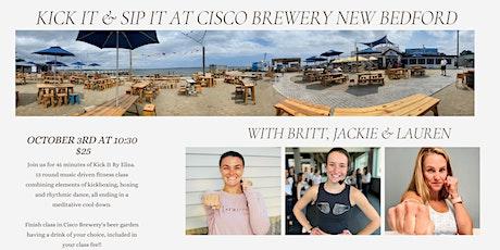 Kick It & Sip It at Cisco Brewery tickets