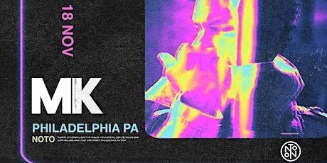 MK @ Noto Philly November 18th tickets