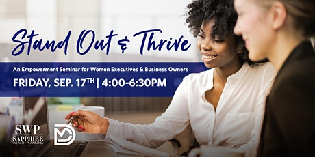 Stand Out & Thrive tickets