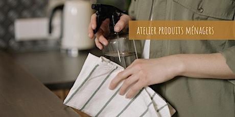 Atelier Zéro Déchet : mes produits ménagers billets