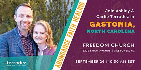 Ashley and Carlie Terradez at Freedom Church Gastonia tickets