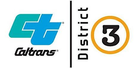 Caltrans D3 Mandatory Pre-Bid Meeting (03-0J8604) SIE 89 Wildlife Crossing tickets