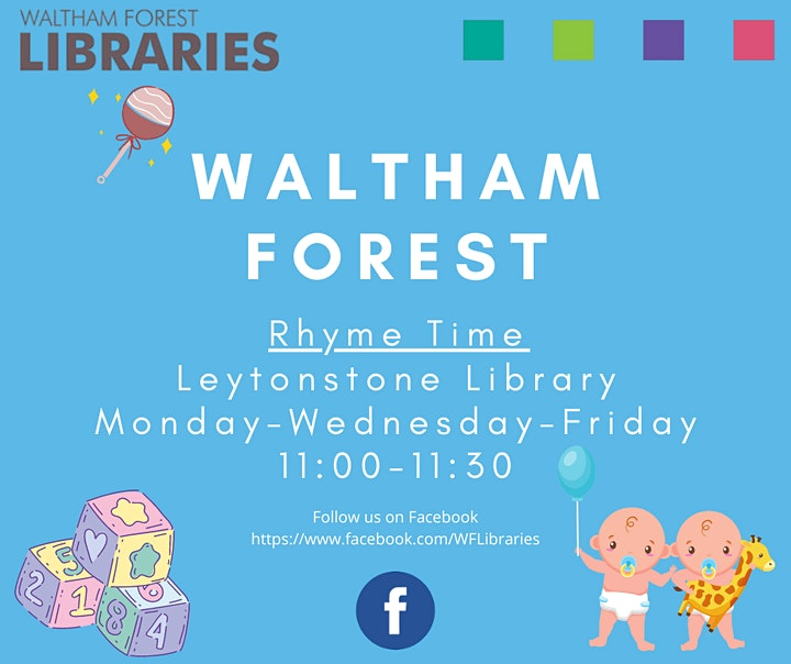 Waltham Forest Rhyme Time image