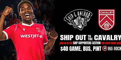 SHIP OUT - CAVALRY vs PACIFIC tickets