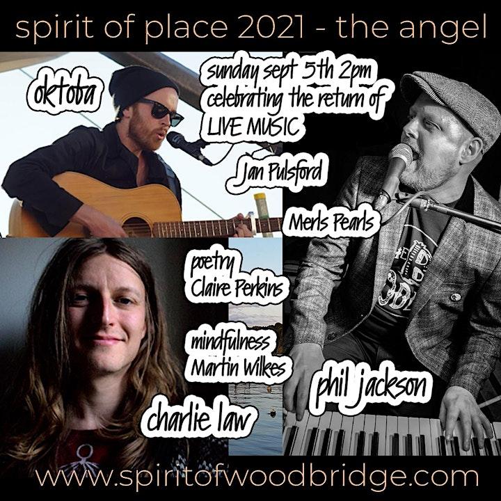 Spirit of Place 2021 - Sunday Sept5th - OKTOBA - Charlie Law - & more LIVE image
