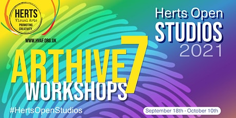 ArtHive7 Workshops - Playful Painting with inks tickets