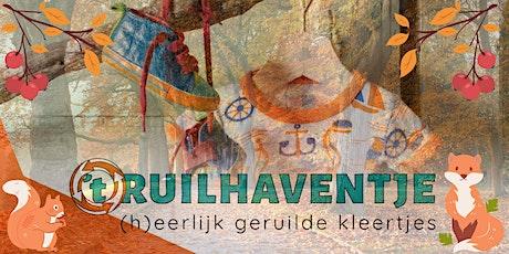Kinderkledingruilpunt 't Ruilhaventje - ruildag september tickets
