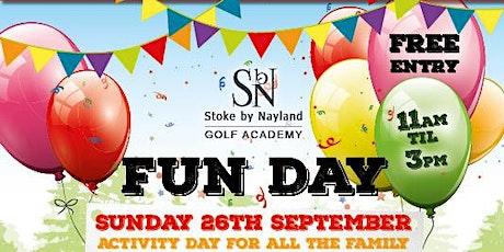Stoke by Nayland Golf Academy Fun Day tickets