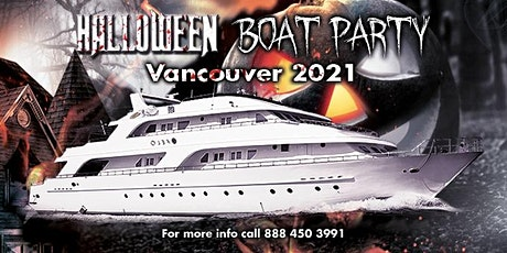 Halloween Boat Party Vancouver 2021 tickets