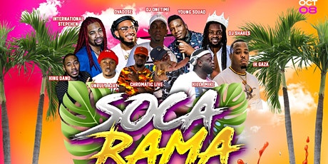 Soca Rama 2021 tickets