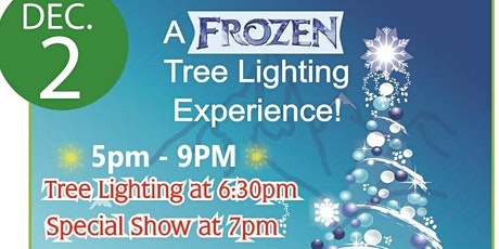 A FROZEN Tree Lighting Experience tickets