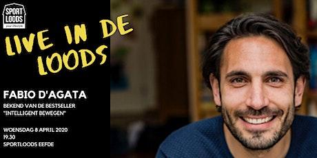 Live in de Loods: Fabio D'Agata tickets