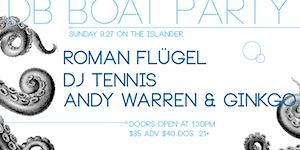 [dB2015 Boat Party] ROMAN FLUGEL (dj) DJ TENNIS (dj)...