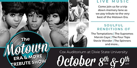 Motown Era & More Tribute Show tickets