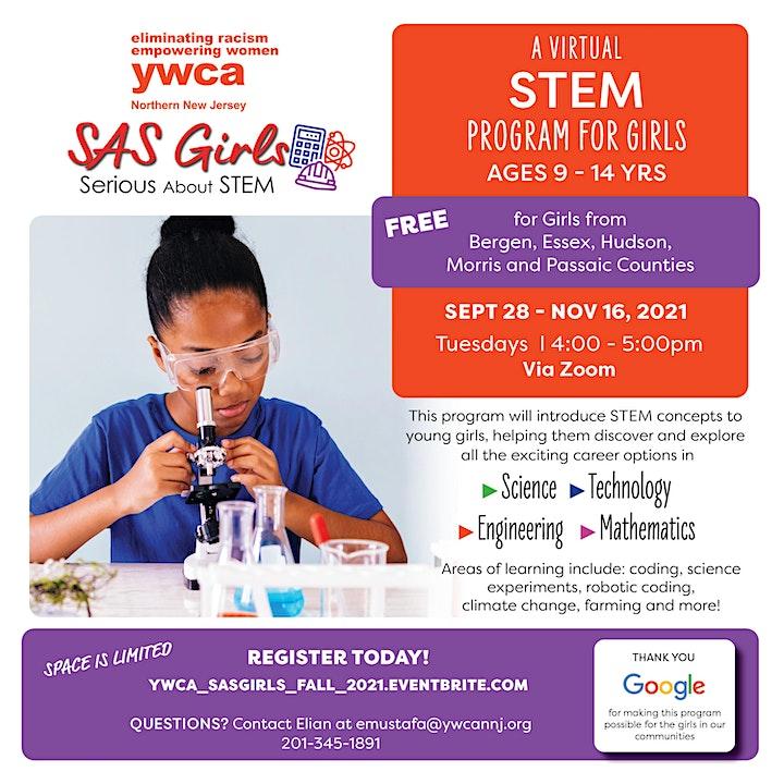 Serious about STEM - SAS Girls image