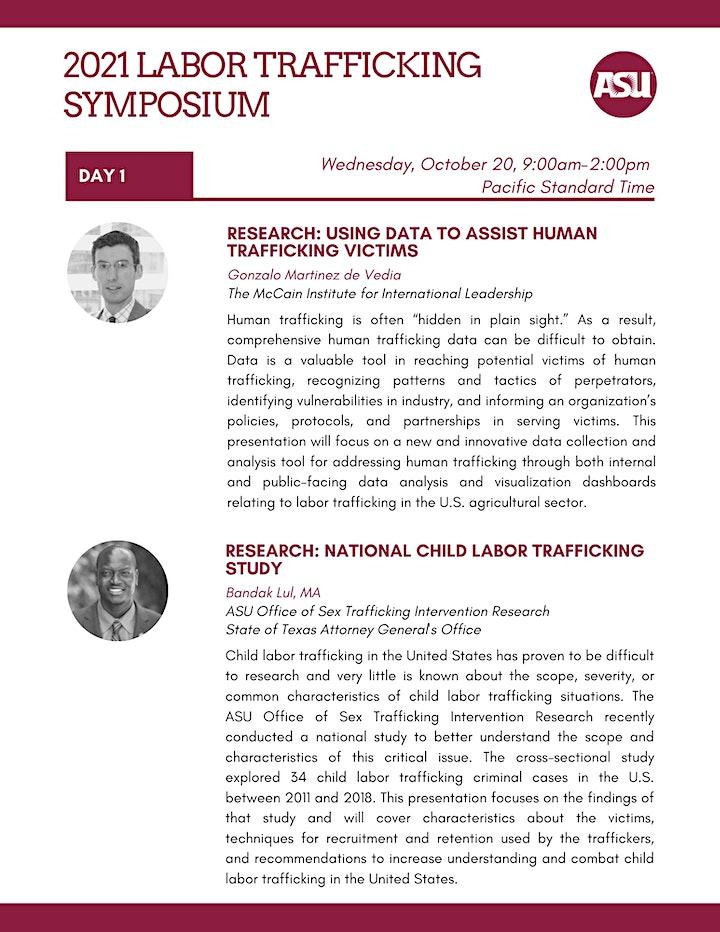 2021 Labor Trafficking Symposium image