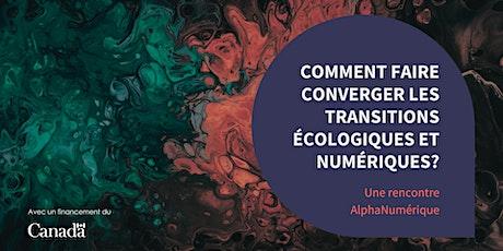 Comment faire converger les transitions écologiques et numériques? billets