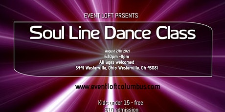 Soul Line Dancing tickets
