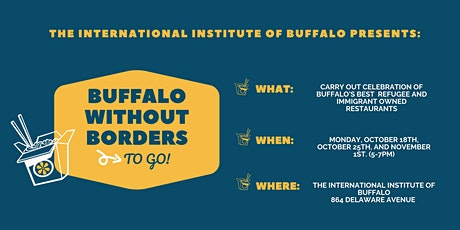 Buffalo Without Borders TO GO (Fall 2021) tickets