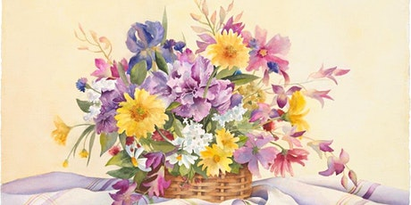 Watercolor Florals on Aquabord with Kristin Woodward Tickets
