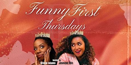 Funny First Thursdays tickets