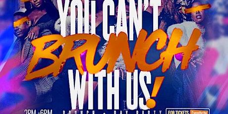 We brunch on Sundays tickets