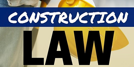 Construction Law: S1-  Understanding and Negotiating Contract Terms tickets
