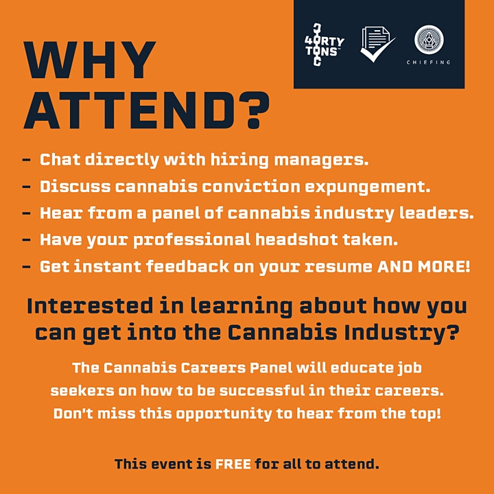 Los Angeles Cannabis Hiring Event* Free For Jobseekers (Register Now) image