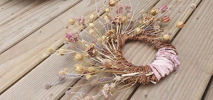 Dried Flower Wreath Workshop image