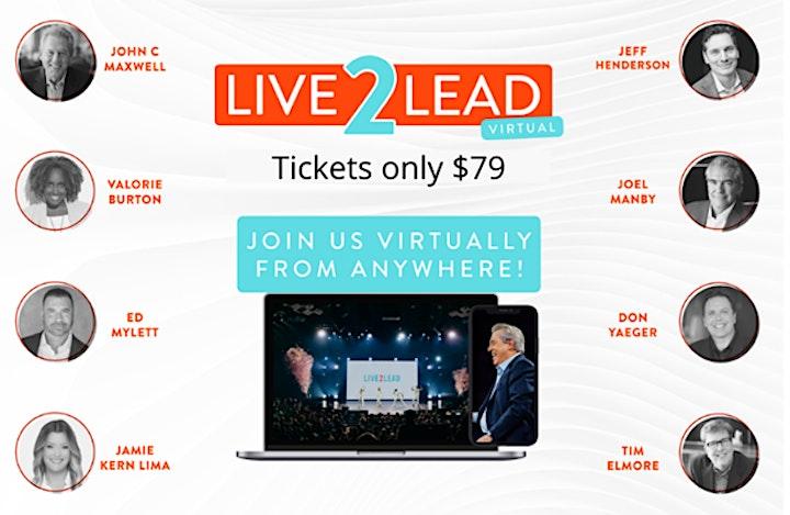Live2Lead 2021 - Premier Leadership Event image