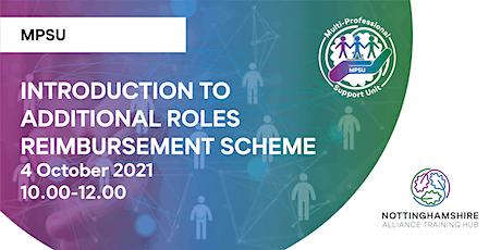 Introduction to Additional Roles Reimbursement Scheme (ARRS) tickets