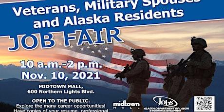 2021 Veterans, Military Spouses, and Alaska Residents Job Fair tickets