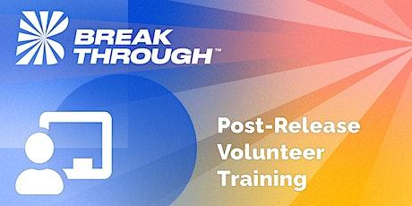 Post-Release Volunteer Training tickets