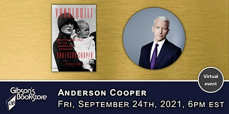 Anderson Cooper, Vanderbilt: The Rise and Fall of an American Dynasty tickets