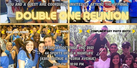 the Official BGHS Double One Reunion tickets
