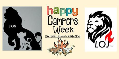 Lion Kids Happy Campers Week tickets