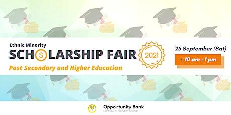 Ethnic Minority Scholarship Fair 2021 (Post-Secondary) tickets