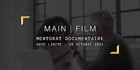 Mentorat documentaire | En ligne tickets