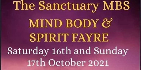 Mind, Body and Spirit Fayre tickets