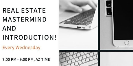 Real Estate Online Mastermind and Introduction (GA) tickets