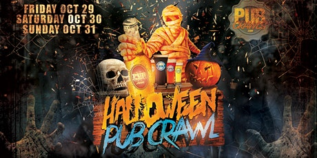 Official HalloWeekend Pub Crawl Grove Square Jersey City tickets
