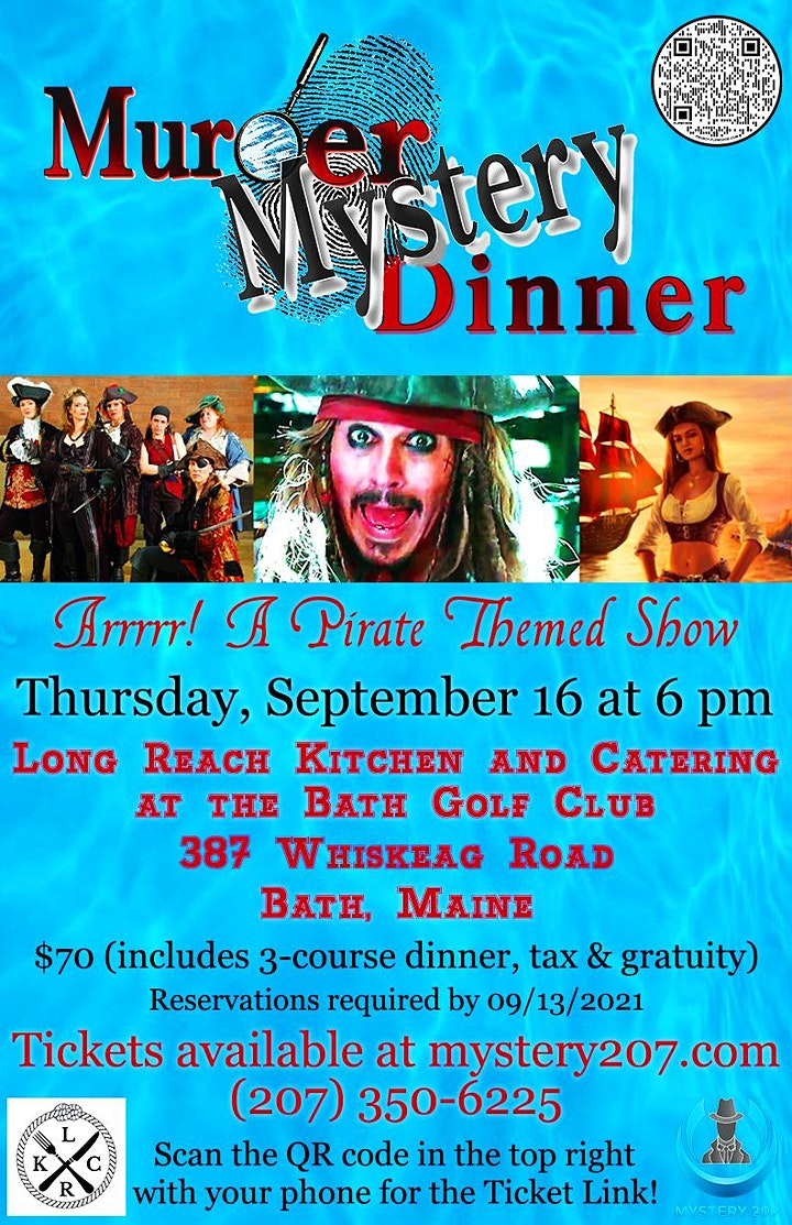 Pirate Themed Murder/Mystery Dinner at Long Reach Kitchen & Catering image