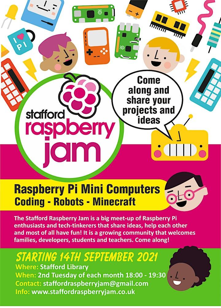 Stafford Raspberry Jam image