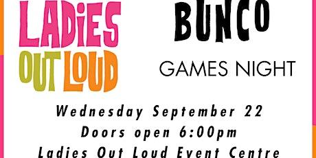LOL Bunco Games Night (NON Members) tickets