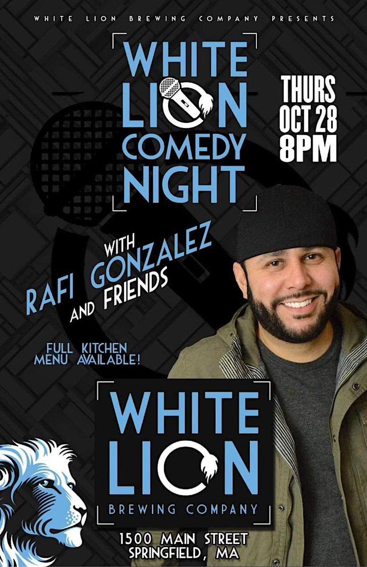 White Lion Comedy Night image