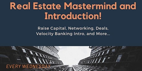 Real Estate Online Mastermind and Introduction (NV) tickets